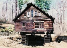The Correct Cabin Foundation is critical Pier And Beam Foundation, Building Foundation, House Foundation, Building A Small Cabin, Small Cabin Plans, Building A Shed, Building Ideas, Shed Cabin, Diy Cabin