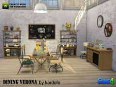 kardofe Dining Verona - The Sims 4 Download - Gluppr
