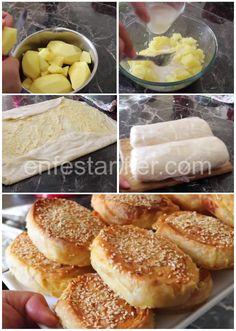 Hot Dog Buns, Hot Dogs, Baklava Cheesecake, Icebox Pie, Turkish Kitchen, Turkish Recipes, Pie Recipes, Freezer, Food And Drink