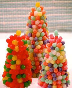 arbol de navidad de gominolas