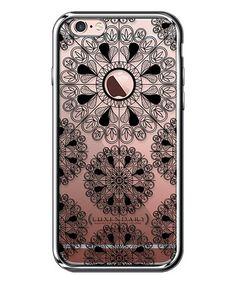 Look at this #zulilyfind! Chrome & Black Small-Mandalas Case for iPhone #zulilyfinds
