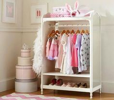 You're never too young to have a dazzling closet.