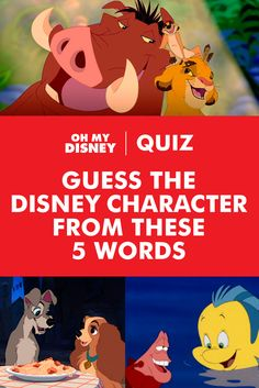 How well do you really know your favorite Disney characters? Well enough to identify them by just something they may have said? Find out by testing your knowledge of five-word quotables in this Disney quiz, then share your results below!