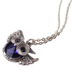 Treat your pet to this Navy Blue Owl Necklace     FREE worldwide shipping    https://www.pawsify.com/product/navy-blue-owl-necklace/