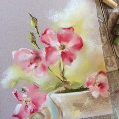 Instagram media canotstoppainting - Может розового добавить?... #пастель…