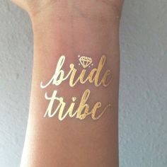 Bachelorette party flash tats from Etsy!