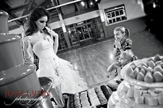 saw this shoot happen on tv for trash the dress supper cute Idea the woman who got married owns a bakery!