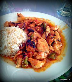 Chicken Dish, Sini Lokanta, Çalış, #Fethiye - Love food from lokantas.