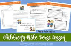 Thank you for requesting the Ephesians Study! Christian Homemaking, Christian Parenting, Ephesians 6 1, Memory Verse, Kid Memes, Special Needs Kids, Bible Lessons, Teaching Kids, Bible Verses