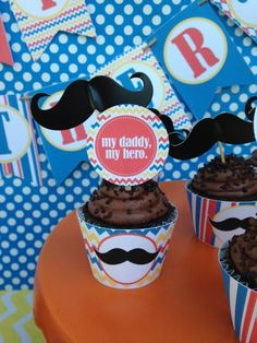Easy and inexpensive Father's Day Party Ideas. See more party ideas and share yours at CatchMyParty.com