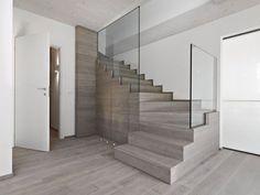Habillage escalier béton sur mesure, marches, rampes d\'escaliers ...