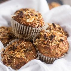Looking for a good Banana Muffin Recipe that doesn't contain gluten, dairy or added sugar but still tastes absolutely amazing?