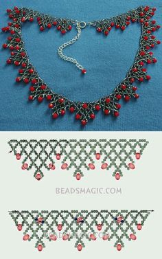Best Seed Bead Jewelry 2017 Free Pattern for Sorbo Rocailles Necklace . - Best seed bead jewelry 2017 Free pattern for necklace Sorbo Rocailles … – - Beaded Necklace Patterns, Seed Bead Patterns, Beading Patterns, Bracelet Patterns, Beaded Necklaces, Loom Patterns, Necklace Designs, Necklace Ideas, Diy Necklace