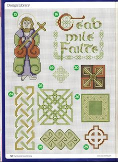 Gallery.ru / Фото #25 - The world of cross stitching 162+прил.18 Pretty Floral Chart - tymannost