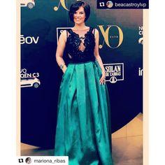 Premios yodona con la actriz Mariona Ribas