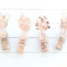 WEBSTA @ thelittlemarket - Choose from 8 soaking salts:Rest   Recover - rosesRelax   Refresh - freesia oil   hibiscus Cool   Calm - peppermint Pause   Pamper - lavenderRise   Shine - orangeSoak   Soothe - lemon Sweet Dreams - lavender   chamomile Unwind   Reset - rose   lavender 📷:@marisavitalephoto