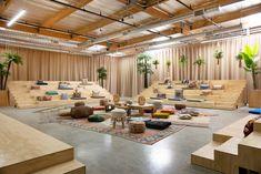 Tubescience Studios Offices - Los Angeles Creative Office Space, Office Space Design, Modern Office Design, Workplace Design, Office Interior Design, Office Interiors, School Office Design, The Office, Beaux Arts Lyon
