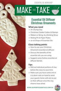 Oil Diffuser Christmas Tree Ornaments How to Make Essential Oil Diffuser Ornaments - Essential Oil Creative Essential Oils Christmas, Making Essential Oils, Essential Oil Blends, Diy Christmas Ornaments, Holiday Crafts, Christmas Ideas, Beach Christmas, Pink Christmas, Country Christmas