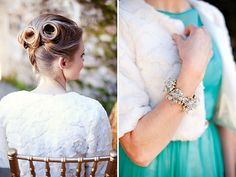 Glamorous Mint & Gold Wedding Inspiration