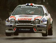 Toyota Corolla WRC rally car