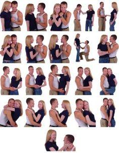 Позы фотосессии для двоих
