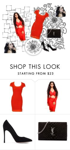 """""""Bez naslova #10"""" by mm77 ❤ liked on Polyvore featuring beauty, Versace, Gianvito Rossi, Yves Saint Laurent and Arteriors"""