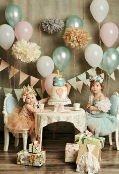 First Birthday photoshoot? Maybe a little girl who loves tea parties would be more suitable.