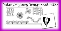 Sharing Fairy Wings Zendoodle Pattern
