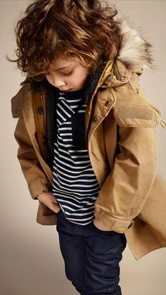 ALALOSHA: VOGUE ENFANTS: Burberry AW2013