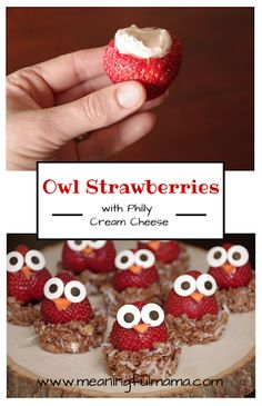 These will definitely get your kids interested in eating healthy strawberries.