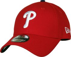New Era The League Adjustable Baseball Cap. Red with the Philadelphia  Phillies front logo 5fdc90c8511