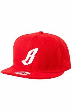 Billionaire Boys Club Men s BBC B Snapback One Size Red  Clothing seen on  Pharrell Williams fc6c352eb426