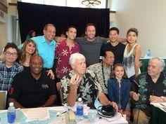 "Hawaii Five-0 cast & other celebrities at ""Kokua For The Phillipines"". Hilton Hawaiian Village, 12/15/13."