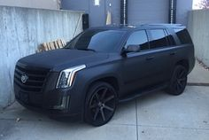 Custom Black White Cadillac Escalade