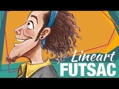 Demonstração de como fazer Lineart - Futsac   FRANCIS DE CRISTO   54/365