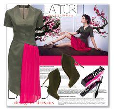"""LATTORI II-24"" by edita-n ❤ liked on Polyvore featuring moda, Lattori, Gianvito Rossi, Benefit y lattori"
