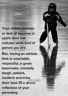 Any sport parents not just hockey Hockey Memes, Hockey Quotes, Sport Quotes, Montreal Canadiens, Quotes To Live By, Life Quotes, Yoga Quotes, Hockey Party, Hockey Girls