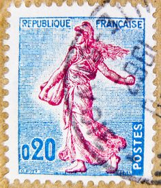 beautiful french stamp Briefmarke 0,20 timbre Francaise France Frankreich RF Postes francaise Marianne postage revenue porto francobolli bollo sello marke marka franco timbres Frankreich Briefmarken by stampolina, via Flickr