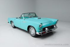 This 1955 Ford Thunderbird is listed on Carsforsale.com for $24,900 in Syosset, NY