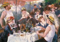 Luncheon of the Boating Party, Pierre Auguste Renoir Impressions sur toiles…