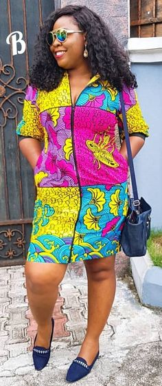 The complete pictures of latest ankara short gown styles of 2018 you've been searching for. These short ankara gown styles of 2018 are beautiful Latest Ankara Short Gown, Ankara Short Gown Styles, Short Gowns, Ankara Gowns, Ankara Dress, African Print Dresses, African Print Fashion, African Fashion Dresses, African Dress