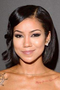 Jhene Aiko at the 2015 Grammys.