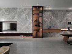 Stylish Luxury Living Room Design Ideas With Modern Home Accent Living Room Modern, Living Room Interior, Home Living Room, Living Room Decor, Interior Livingroom, Tv Feature Wall, Living Room Tv Unit Designs, Luxury Living, Interiores Design