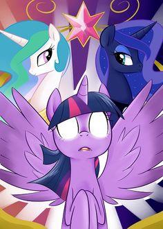 Princess Trinity by TheSassyJessy on DeviantArt My Little Pony Princess, Mlp My Little Pony, My Little Pony Friendship, Celestia And Luna, Princess Celestia, Princess Luna, Mlp Twilight, Princess Twilight Sparkle, Mlp Pony