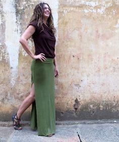 Gaia Conceptions - Salwar Pencil Long Skirt, $115.00 (http://www.gaiaconceptions.com/salwar-pencil-long-skirt/)