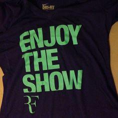 #RF #Shirt #Tshirt #T-shirt #tee #nike #niketennis #tennis #rogerfederer #federer #woman #NYC #usopen #21mercer #newyork #flushingmeadows