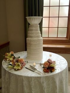 This is a wedding cake