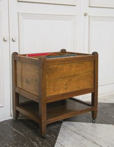 A Victorian walnut canterbury 19th century | $800