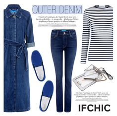 """""""Outer Denim"""" by ifchic ❤ liked on Polyvore featuring мода, Atea Oceanie, Amb Ambassadors of minimalism, Mohzy, women's clothing, women, female, woman, misses и juniors"""