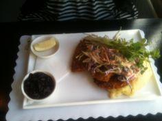 Black Bear Inn serves great dishes year round in Thredbo. Yummy